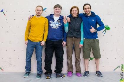 команда постановщиков трасс из Москвы