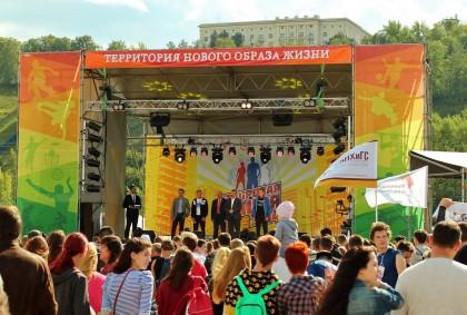 Отчёт с фестиваля «Здоровая нация»