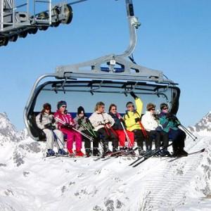 Виды горнолыжных подъёмников Подъёмники кресельного типа.
