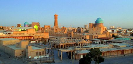 Sunset_Bukhara