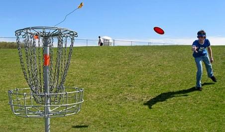 Турнир по диско-гольфу