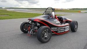 Студенты НГТУ подготовили машину к соревноманиям Formula SAE