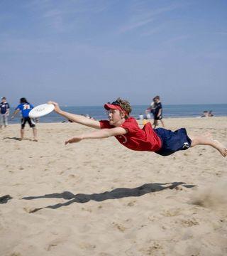 Beach/Snow Frisbee (Пляжный/снежный фрисби)