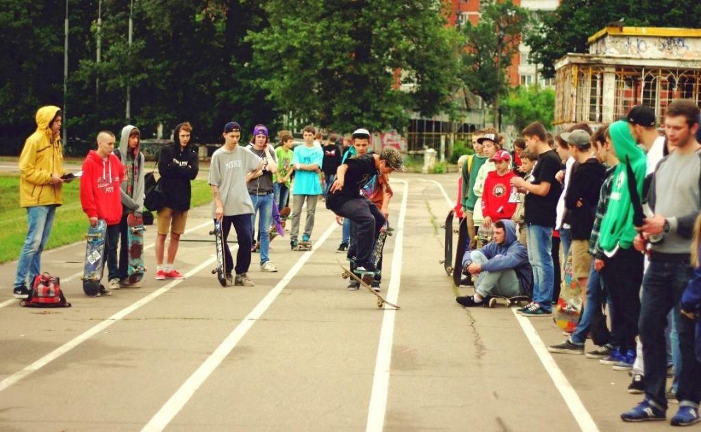 """Go Skateboarding Day 2013"" в Нижнем Новгороде"