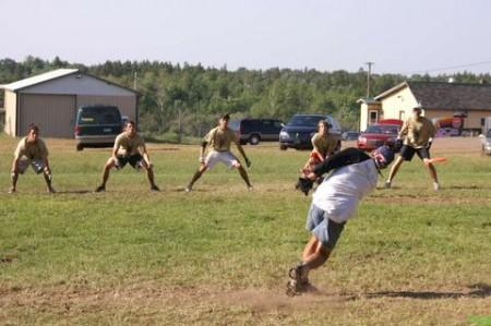 Правила GUTS Frisbee