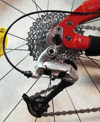 Натяжение цепи горного велосипеда