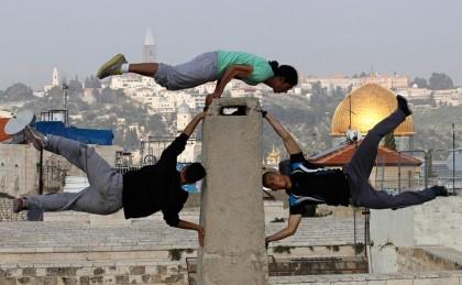 Паркур в Палестине