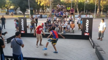 Турнир по уличному футболу PANNA в Дзержинске