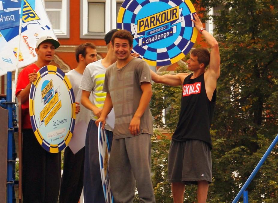 Parkour Challenge 2013 награждение