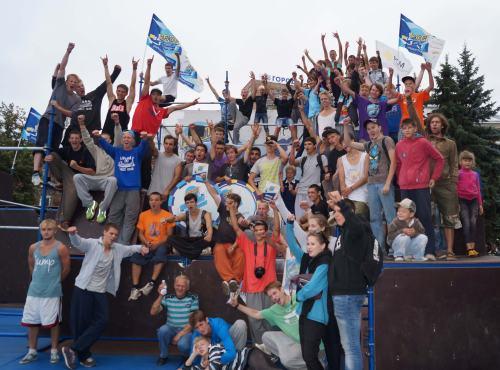 Parkour Challenge Russia в Нижнем Новгороде