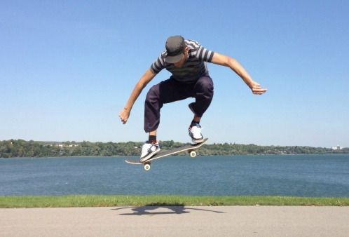 трюки в скейтбординге