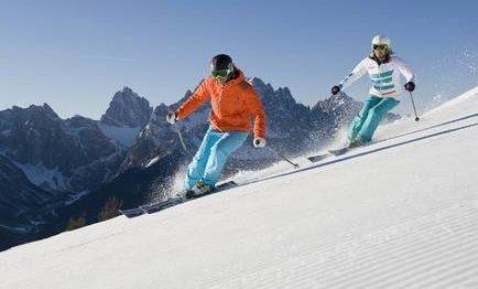 Основы техники горных лыж