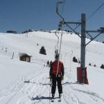 Виды горнолыжных подъёмников. Бугельный подъёмник