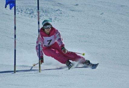 Областные соревнования по горным лыжам на Слуде