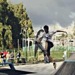 Отчёт о открытии скейтпарка на Сурикова
